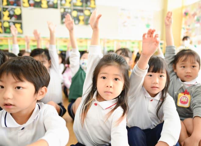 自主的に考え活動できる子供