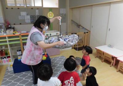 2歳児クラスの活動(7月)