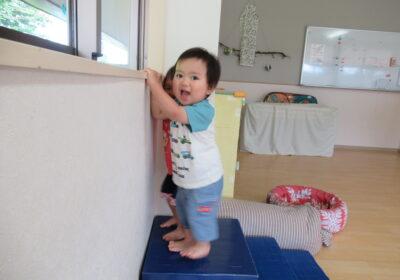 1歳児クラスの活動(7月)